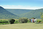 Rural clothesline in Nippenose Valley.