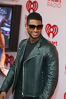 LAS VEGAS, NV - Usher September 21:  pictured at iHeart Radio Music Festival at MGM Grand Resort on September 21, 2012 in Las Vegas, Nevada..    &copy; RD/ Kabik/ Starlitepics / Mediapunchinc /NortePhoto<br />