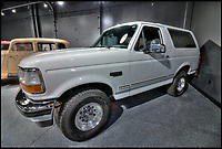 O.J.Simpson's infamous Ford Bronco for sale.