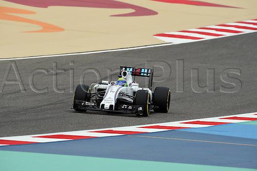 01.04.2016. Bahrain. FIA Formula One World Championship 2016, Grand Prix of Bahrain, Practise day.  Felipe Massa, Williams F1 Team, formula 1 GP