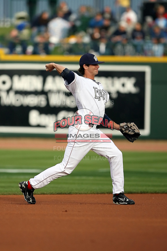June 17th 2008:  Andy Parrino of the Fort Wayne Wizards, Class-A affiliate of the San Diego Padres, during the Midwest League All-Star Game at Dow Diamond in Midland, MI.  Photo by:  Mike Janes/Four Seam Images