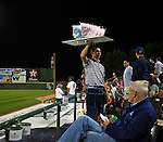 Cotton Candy at the Charlotte Knights home game