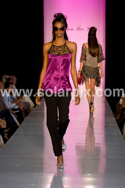 **ALL ROUND PICTURES FROM SOLARPIX.COM**.**SYNDICATION RIGHTS FOR UK, SPAIN, PORTUGAL, AUSTRALIA, S.AFRICA & DUBAI (U.A.E) ONLY**.Fashion For Life 2008 Celebrating Hearts & Hope with Style held at Mercedes-Benz of Beverly Hills, Beverly Hills, CA, USA. 18th May 2008..This pic: Diane Samandi Collection..JOB REF: 6454 PHZ    DATE: 18_05_2008.**MUST CREDIT SOLARPIX.COM OR DOUBLE FEE WILL BE CHARGED* *UNDER NO CIRCUMSTANCES IS THIS IMAGE TO BE REPRODUCED FOR ANY ONLINE EDITION WITHOUT PRIOR PERMISSION*