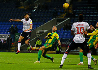 Bolton Wanderers' Jason Lowe goes close in the second half<br /> <br /> Photographer Alex Dodd/CameraSport<br /> <br /> The EFL Sky Bet Championship - Bolton Wanderers v West Bromwich Albion - Monday 21st January 2019 - University of Bolton Stadium - Bolton<br /> <br /> World Copyright © 2019 CameraSport. All rights reserved. 43 Linden Ave. Countesthorpe. Leicester. England. LE8 5PG - Tel: +44 (0) 116 277 4147 - admin@camerasport.com - www.camerasport.com