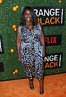 www.acepixs.com<br /> <br /> June 9 2017, New York City<br /> <br /> Actress Uzo Aduba arriving at the 'Orange Is The New Black' Season 5 Celebration at Catch on June 9, 2017 in New York City. <br /> <br /> By Line: Nancy Rivera/ACE Pictures<br /> <br /> <br /> ACE Pictures Inc<br /> Tel: 6467670430<br /> Email: info@acepixs.com<br /> www.acepixs.com