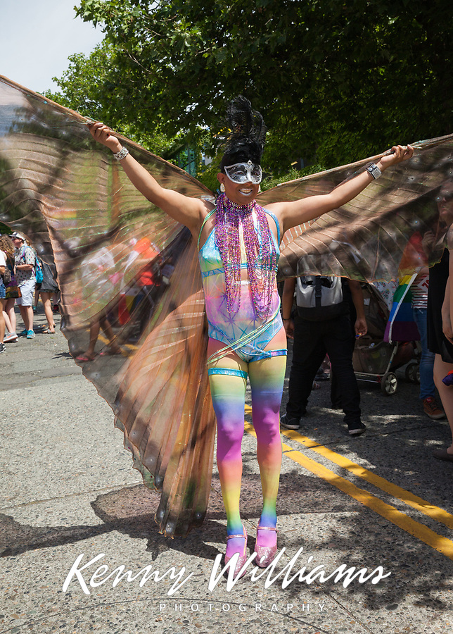 Seattle PrideFest 2017, Pride Parade & Festival, Washington, USA.