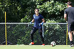 CARY, NC - JUNE 01: Sabrina D'Angelo. The North Carolina Courage held a training session on June 1, 2017, at WakeMed Soccer Park Field 7 in Cary, NC.