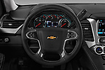 Car pictures of steering wheel view of a 2016 Chevrolet Suburban 1500 LS 5 Door SUV