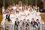 Studants from Moyderwell Primary School who recieved their First Holy Communion last Saturday in St Johns Parish church.   Copyright Kerry's Eye 2008
