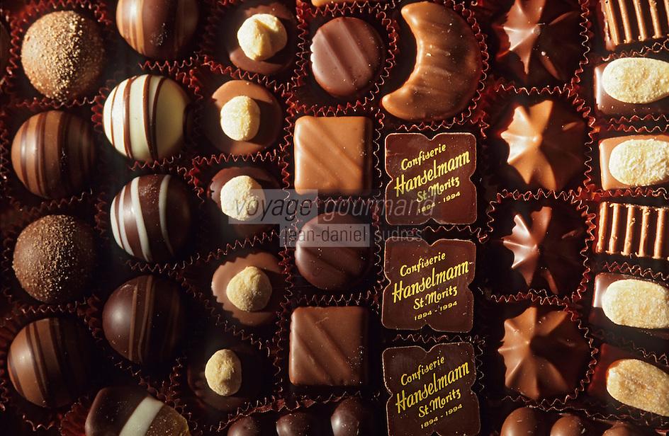 """Europe/Suisse/Engadine: Les chocolats de la pâtisserie """"Hanselmann"""""""