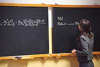 Insegnate di matematica al liceo classico Berchet. Milano, 27 febbraio, 2003<br /> <br /> High School teacher. Milan, February 23, 2003