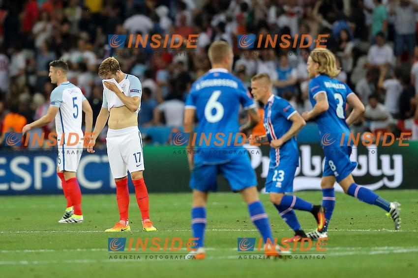 Eric Dier of England Delusione Dejection <br /> Nice 27-06-2016 Stade de Nice <br /> Football Euro2016 England - Iceland / Inghilterra - Islanda Round of 16 / Ottavi di finale Foto Daniel Chesterton / PHC / Panoramic / Insidefoto