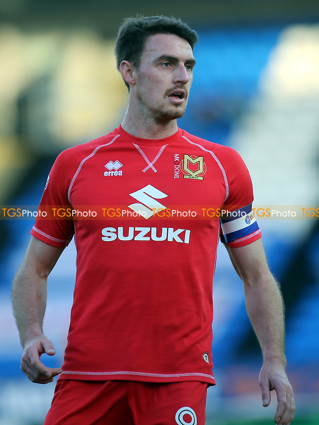 Darren Potter of MK Dons during Peterborough United vs MK Dons, Sky Bet EFL League 1 Football at London Road on 28th January 2017