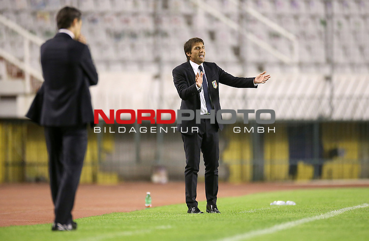 12.06.2015., Croatia, stadium Poljud, Split - Qualifying match for the European Championship to be held in 2016 in France, Group H, Round 6, Croatia - Italy. Antonio Conte.<br />  <br /> Foto &copy;  nph / PIXSELL / Igor Kralj;