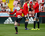John Fleck of Sheffield Utd  during the Championship match at Bramall Lane, Sheffield. Picture date 26th August 2017. Picture credit should read: Simon Bellis/Sportimage
