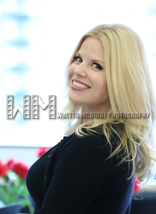 "Megan Hilty In Rehearsal with the Kennedy Center production of ""Little Shop of Horrors"" on October 11 2018 at Ballet Hispanica in New York City."