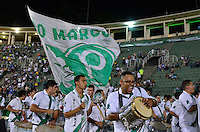 ATENÇÃO EDITOR: FOTO EMBARGADA PARA VEÍCULOS INTERNACIONAIS - SÃO PAULO, SP, 11 DE DEZEMBRO DE 2012 - JOGO DE DESPEDIDA DO GOLEIRO MARCOS - Apresentação da Escola de Samba Mancha Verde antes da partida de despedida do goleiro Marcos, entre o time do Palmeiras de 1999 Campeão da Libertadores contra a Seleção Brasileira de 2002 Campeã do Mundo. A partida foi disputada na noite desta terça feira (11) no Estádio do Pacaembu em São Paulo. FOTO: LEVI BIANCO - BRAZIL PHOTO PRESS