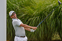 Andrew Landry (USA) watches his tee shot on 16 during 1st round of the World Golf Championships - Bridgestone Invitational, at the Firestone Country Club, Akron, Ohio. 8/2/2018.<br /> Picture: Golffile | Ken Murray<br /> <br /> <br /> All photo usage must carry mandatory copyright credit (&copy; Golffile | Ken Murray)