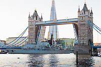 HMS Argyll in London