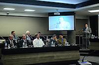 SAO PAULO, 27 DE JUNHO DE 2012 - 18 PREMIO FIESP MERITO AMBIENTAL - Nelson Pereira dos Reis, representando Paulo Skaf, durante a solenidade de premiação da Fiesp que tem o objetivo de incentivar o setor produtivo a desenvolver boas práticas ambientais, na Fiesp, avenida Paulista, na noite desta quarta feira. FOTO: ALEXANDRE MOREIRA - BRAZIL PHOTO PRESS