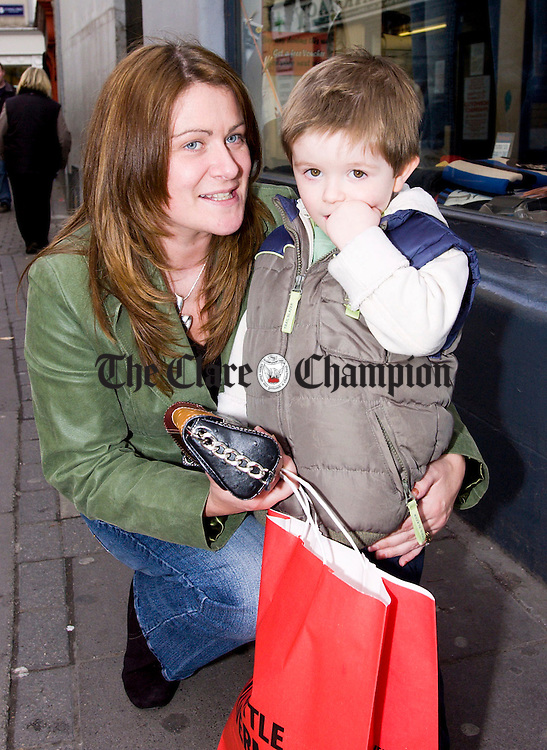 Sean Crotty and Mum Julie.