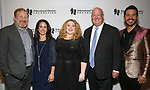 Hunter Bell, Julie Cohen Theobald, Kim Rogers, Matt Conover and Hans Weichhart attend the Fifth Annual Broadway Back To School Gala at Edison Ballroom on September 20,22019 in New York City.