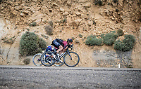 Vasil Kiryienka (BLR/Ineos) speeding down<br /> <br /> Stage 6: Mora de Rubielos to Ares del Maestrat (199km)<br /> La Vuelta 2019<br /> <br /> ©kramon