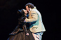 London, UK. 14.10.2013. LES VEPRES SICILIENNES, by Giuseppe Verdi,  opens at The Royal Opera House. Picture shows: Bryan Hymel (Henri) and Lianna Haroutounian (Helene). Photograph by kind permission of The Royal Opera House © Jane Hobson.