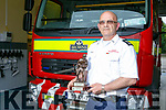 Station officer Billy O'Connor retiring after 30 years service at Castleisland Fire Station
