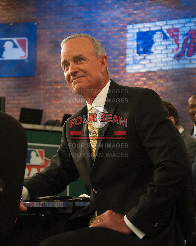 Former Cleveland Indians GM John Hart during the MLB Draft on Thursday June 05,2014 at Studio 42 in Secaucus, NJ.   (Tomasso DeRosa/ Four Seam Images)