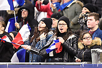 9th February 20020, Stade de France, Paris, France; 6-Nations international mens rugby union, France versus Italy;  Supporters of France