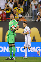 East Rutherford, NJ - Friday June 17, 2016: David Ospina after a Copa America Centenario quarterfinal match between Peru (PER) vs Colombia (COL) at MetLife Stadium.