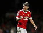 Bastian Schweinsteiger of Manchester United - English Premier League - Manchester Utd vs Chelsea - Old Trafford Stadium - Manchester - England - 28th December 2015 - Picture Simon Bellis/Sportimage