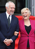 Jonathan Pryce and Glenn Close at the Film4 Summer Screen: The Wife Opening Gala at Somerset House, Strand, London, England, UK on Thursday 9th August 2018.<br /> CAP/ROS<br /> &copy;ROS/Capital Pictures