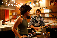 Kiersey Clemons &amp; Nick Offerman<br /> Hearts Beat Loud (2018) <br /> *Filmstill - Editorial Use Only*<br /> CAP/RFS<br /> Image supplied by Capital Pictures