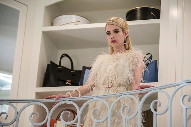 Emma Roberts as Chanel Oberlin in Scream Queens, Season 1