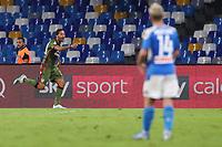 Lucas Castro of Cagliari celebrates after scoring the victory  goal<br /> Napoli 25-9-2019 Stadio San Paolo <br /> Football Serie A 2019/2020 <br /> SSC Napoli - Cagliari SC<br /> Photo Cesare Purini / Insidefoto