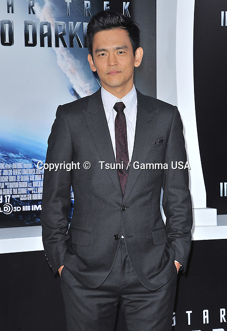 John Cho arriving at Star Trek Into Darkness Premiere at the Dolby Theatre in Los Angeles.