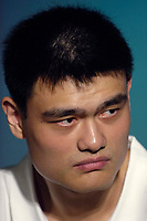 NBA Houston Rockets player Yao Ming in Beijing, China.  July 21, 2006. (photo by Lou Linwei/Sinopix)