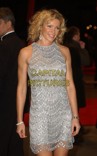 NELL McANDREW .The Last Samurai Premiere, Odeon, Leicester Square.6th January 2004 .half length, half-length, sleeveless.www.capitalpictures.com.sales@capitalpictures.com.Supplied By Capital PIctures