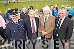 Supt Pat O'Sullivan, Paddy Prendergast, Johnny Wall and Dan Galvin  pictured at the opening of the Tralee Bypass Road on Friday.