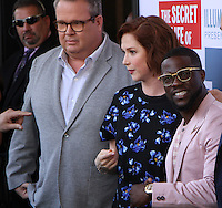 NEW YORK, NY-June 25: Eric Stonestreet,Ellie Kemper,Kevin Hart at Universal Pictures & Illumination Entertainment present the premiere of The Secret Life of Pets  at the  David H. Koch Theartre Lincoln Center in New York. NY June 25, 2016. Credit:RW/MediaPunch