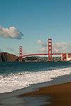 Baker Beach, Golden Gate Bridge, San Francisco, California, USA.  Photo copyright Lee Foster.  Photo # california108830