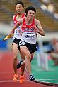 Hideyuki Hirose (JPN), JULY 10th, 2011 - Athletics : The 19th Asian Athletics Championships Hyogo/Kobe, Men's 4x400m Relay Final at Kobe Sports Park Stadium, Hyogo in Japan. (Photo by Jun Tsukida/AFLO SPORT) [0003]..