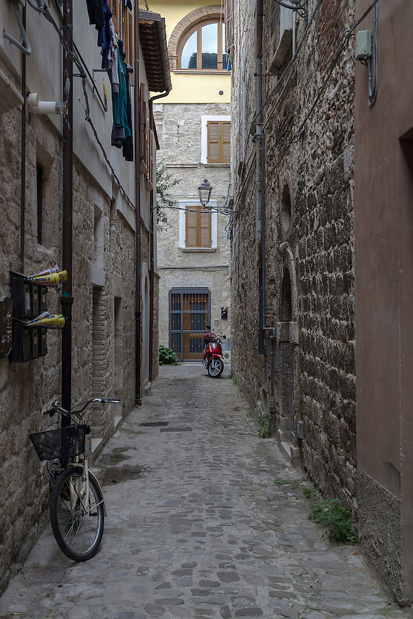 Street View from Ascoli Piceno, Italy