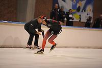 SCHAATSEN: DEVENTER: IJsbaan De Scheg, 16-10-2016, Holland Cup, Simon Schouten, ©foto Martin de Jong