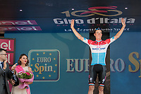 Bob Jungels (LUX/Quick-Step Floors) wins the Maglia Bianca / best young rider<br /> <br /> stage 21: Monza - Milano (29km)<br /> 100th Giro d'Italia 2017