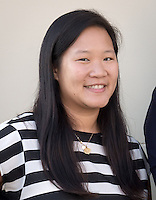 Diana Ngo, Assistant Professor, Economics, Sept. 19, 2014.<br /> (Photo by Marc Campos, Occidental College Photographer)