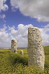 Israel, Southern Coastal Plain, the Monolith Temple on Tel Gezer