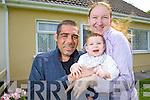 Darren Mullery with his wife Danielle Faulconbridge Daughter Noelle.